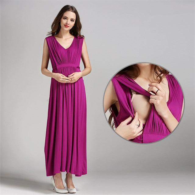 фасоны летних платьев для беременных