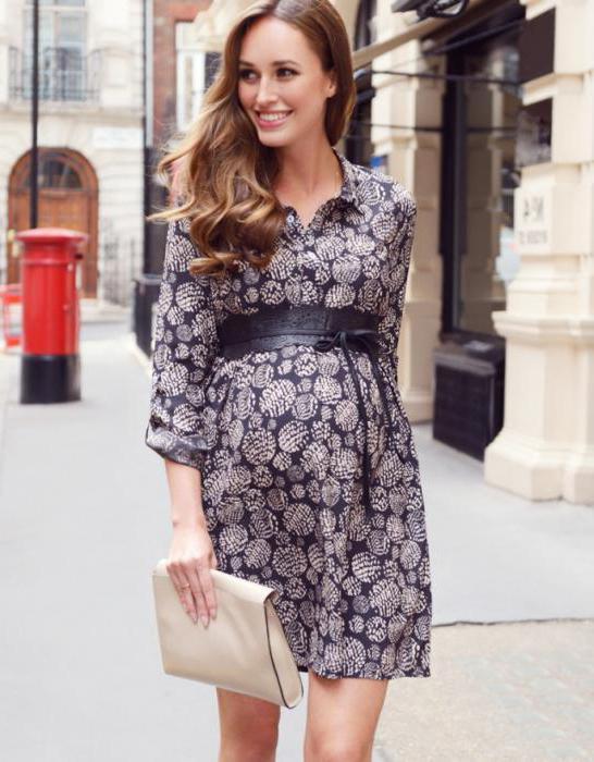фасоны платьев для беременных фото