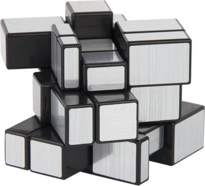 Как собрать зеркальный кубик схема