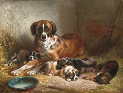 Известные картины с собаками