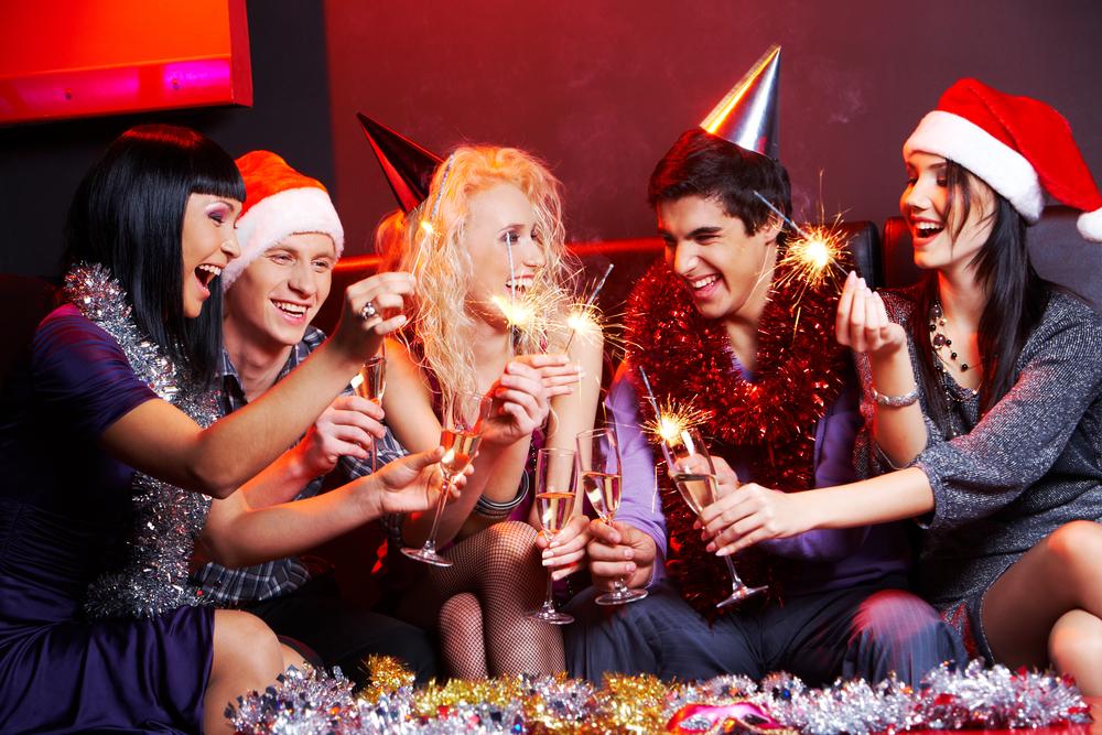 Новогодние поздравление сексуал