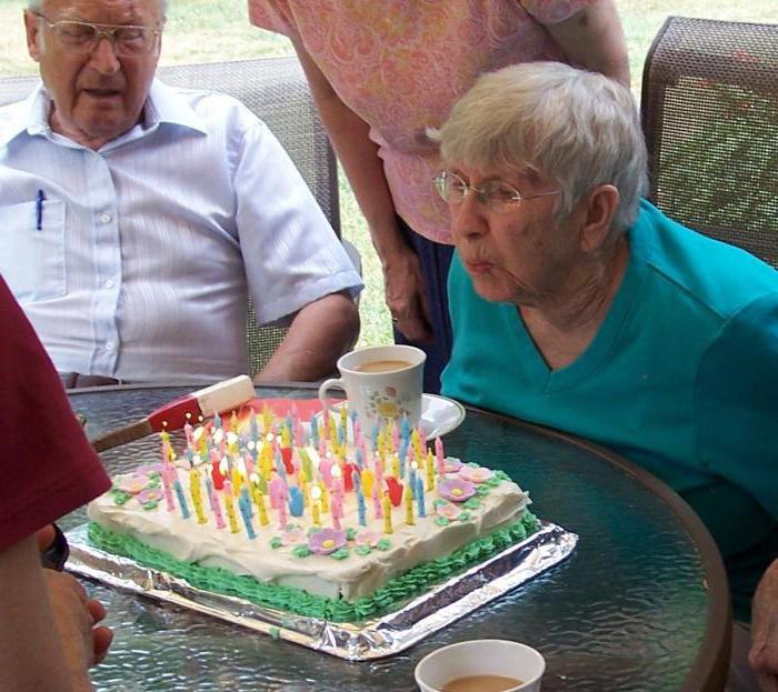 Сценки на день рождения бабушке смешные