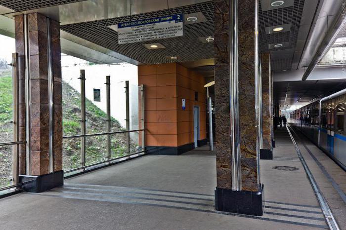 станция метро кунцево