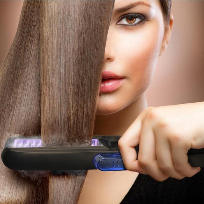 выпрямитель для волос паровой