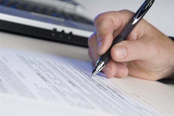 Экспертиза срока давности подписи