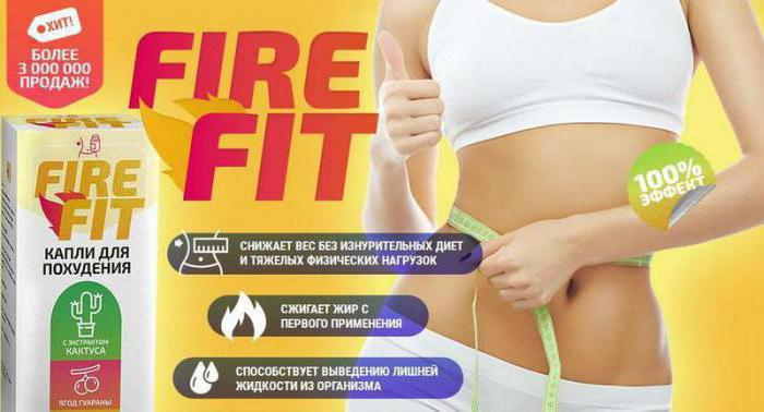 fire fit капли оценки