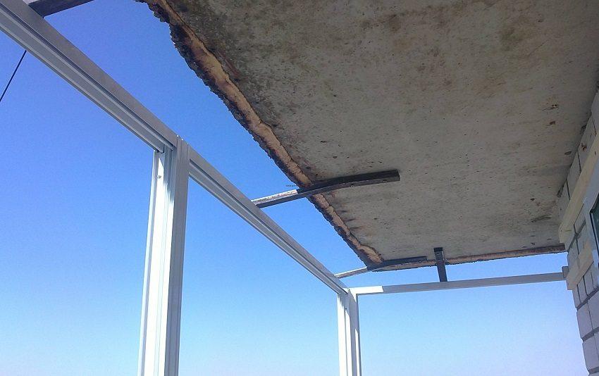 Установка балкона своими руками 105