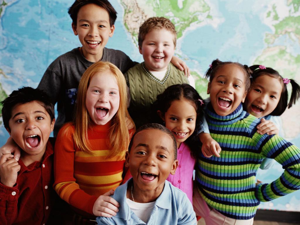 Картинки с детьми разных национальности