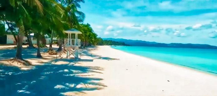 beach of boracay island