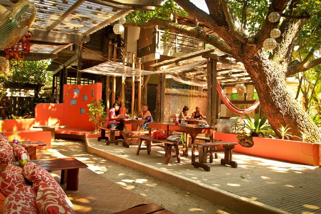 restaurant on the island of Boracay