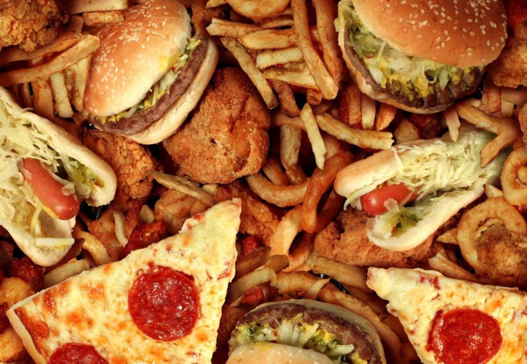 пища с большим содержанием жира