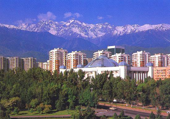 города республики казахстан