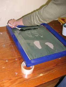 шелкография своими руками
