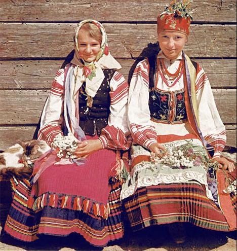 белорусский национальный костюм своими руками