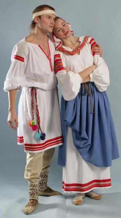 белорусский мужской национальный костюм