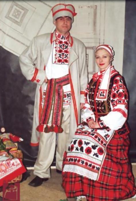 национальный белорусский костюм для девочки