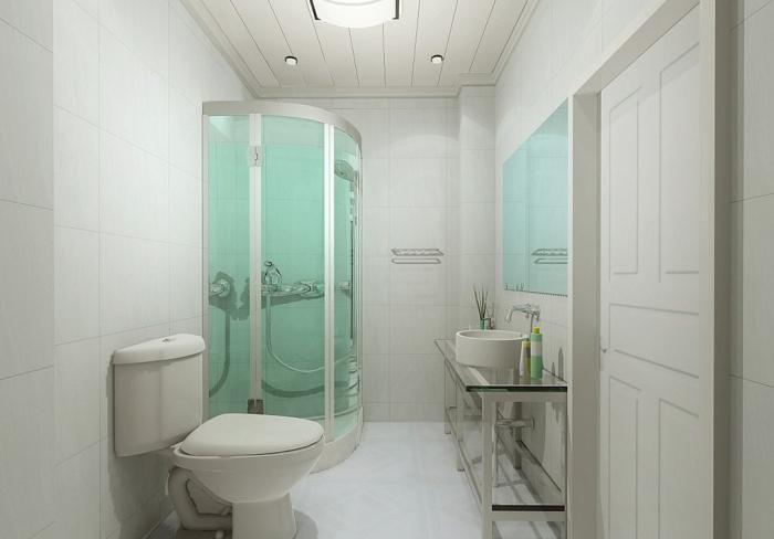 Установка вентиляции в ванной и туалете