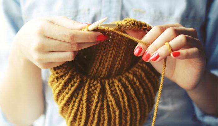 вязаная шапка чалма схема
