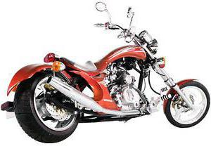прямоток на мотоциклы