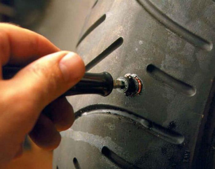 ремонт бокового пореза бескамерной шины