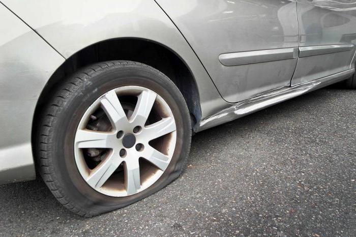 Прокол колеса ремонт своими руками