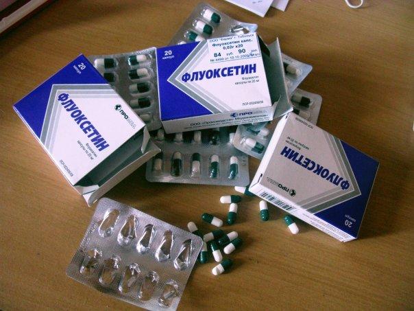 флуоксетин прозак для похудения отзывы