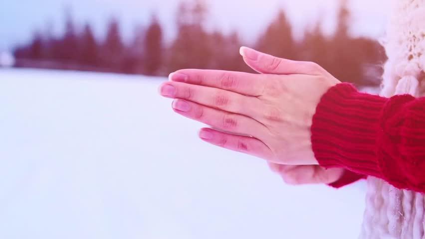 Уход за кожей зимой - Кожа рук должна быть защищена