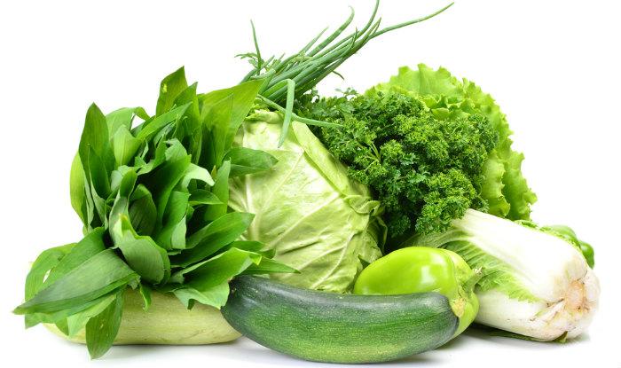 Разрешенные овощи и зелень