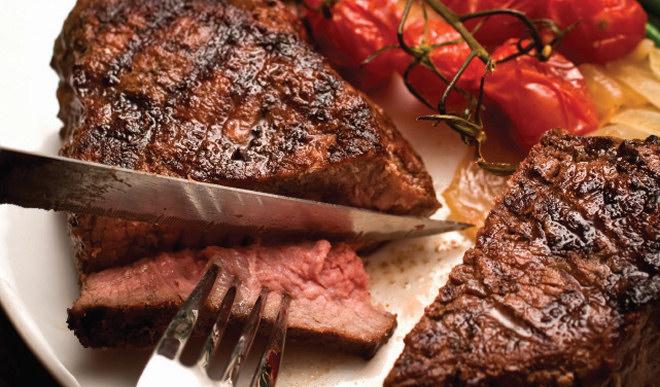 Мясо - тяжелая пища