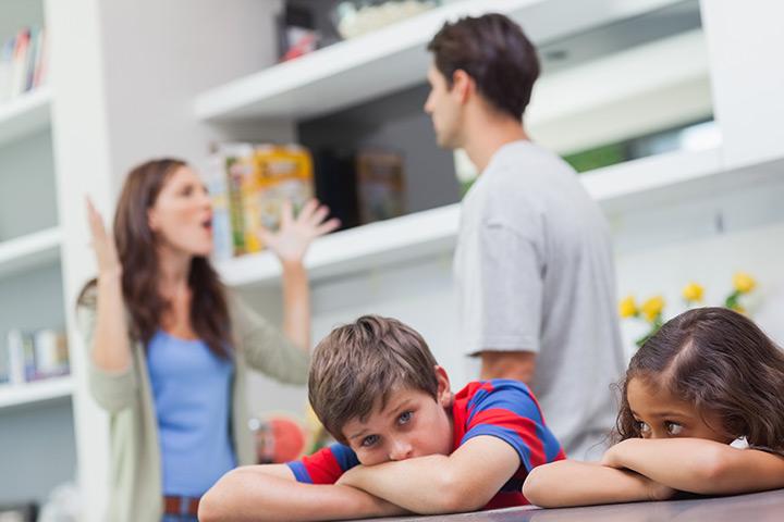 Ссоры при детях недопустимы