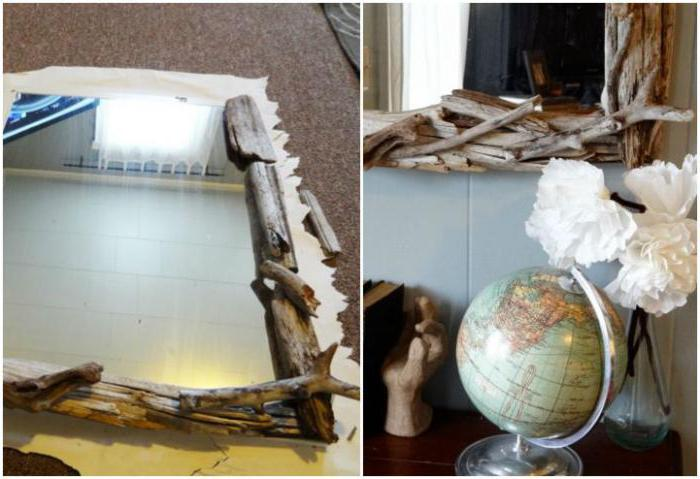 рамка для зеркала из дерева своими руками