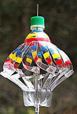 флюгер своими руками из пластиковой бутылки