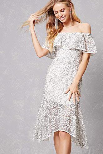 платье летнее с воланом открытые плечи выкройка