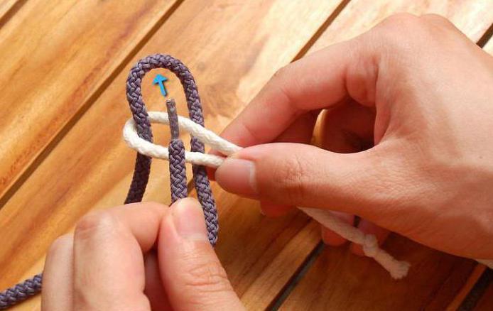 как завязывать брамшкотовый узел