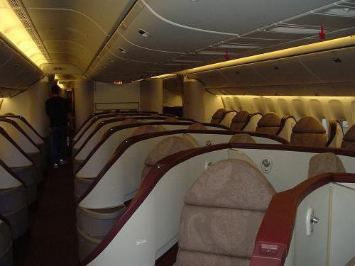 Boeing 777 300er схема мест 588