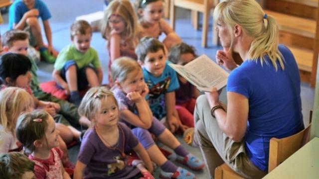 знакомство к художественной литературой в средней группе