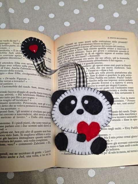 Маленькая закладка для книг своими руками