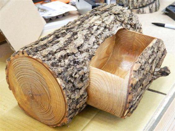 поделки из деревянных спилов