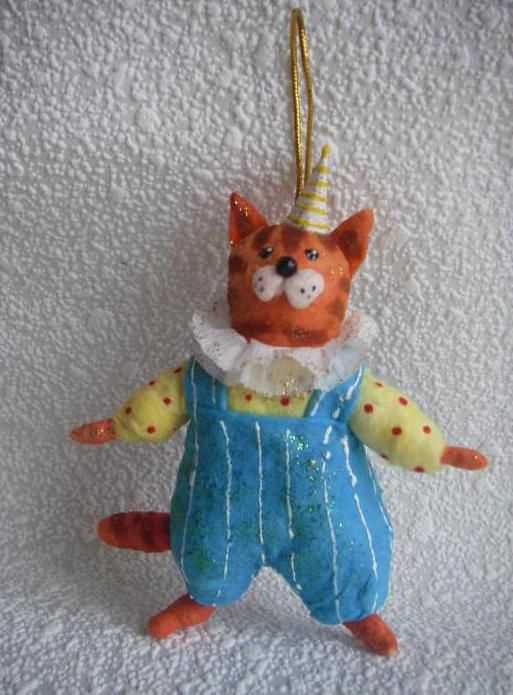 старинные игрушки из ваты