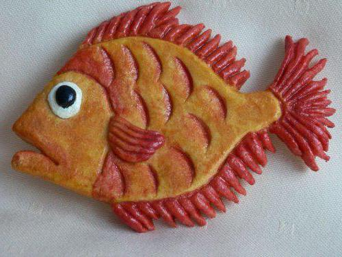 поделка в виде рыбы