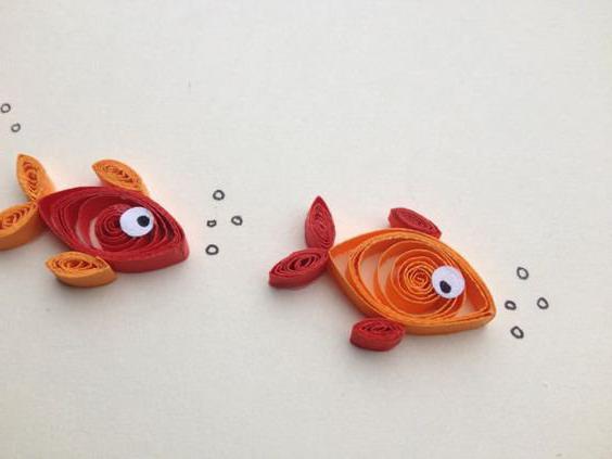 поделки из соленого теста рыбы