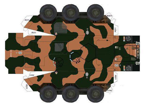 военная техника из бросового материала