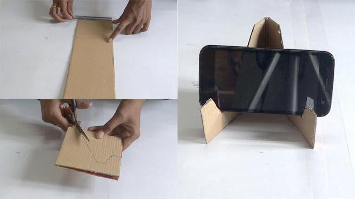 подставка под телефон своими руками