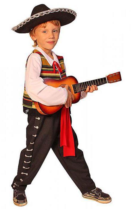 костюм мексиканца для мальчика