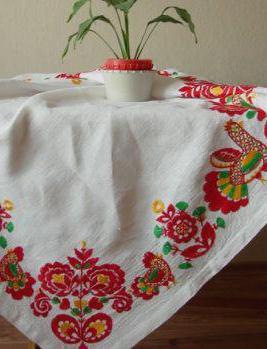 вышивка гладью владимирский шов
