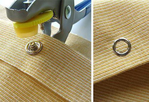устройство для установки кнопок на одежду