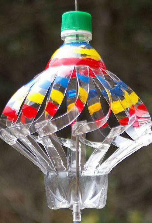 Флюгер из пластиковой бутылки