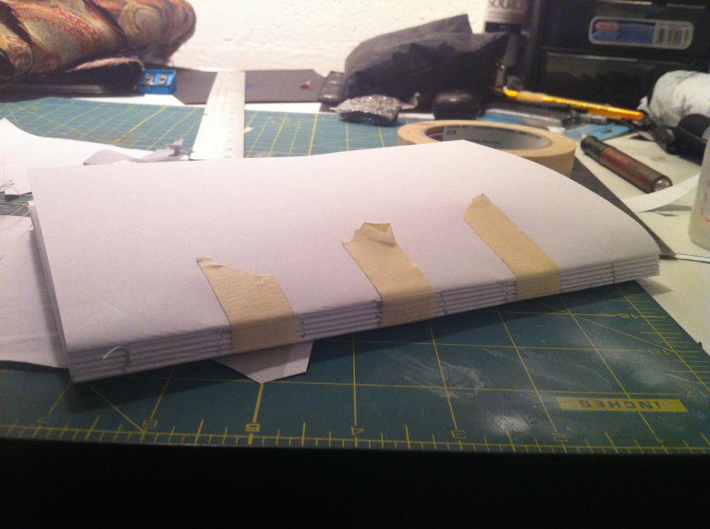 Как сделать бумагу твёрдой 428