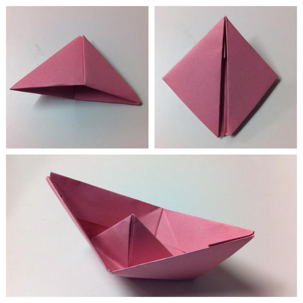 Поделки оригами с пошаговым фото