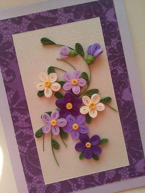 Открытки своими руками поздравительные с цветами, юбилеем открытка сделать